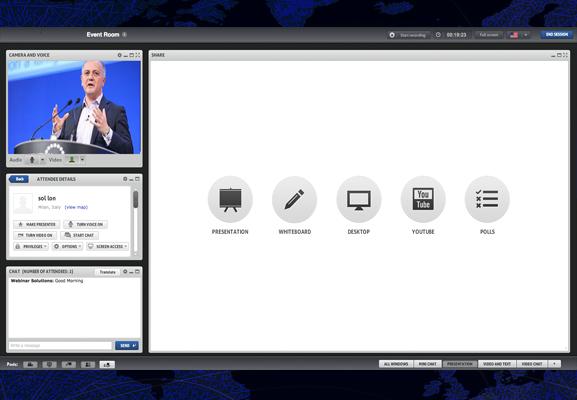Webinars interattivi